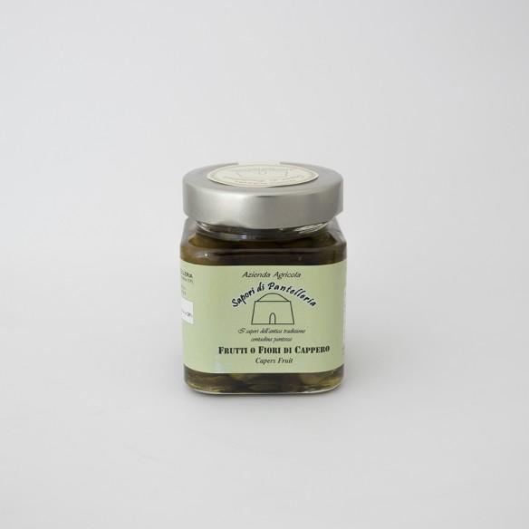 Fiori del cappero sottolio extravergine di oliva